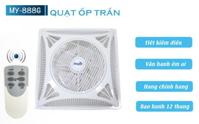 Quạt Ốp Trần Dasin My888G