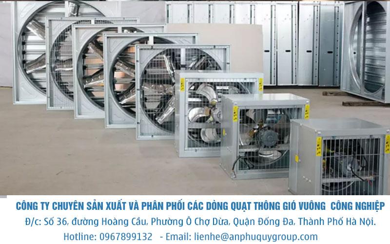 Quạt Hút Gió Vuông SHRV 700×700