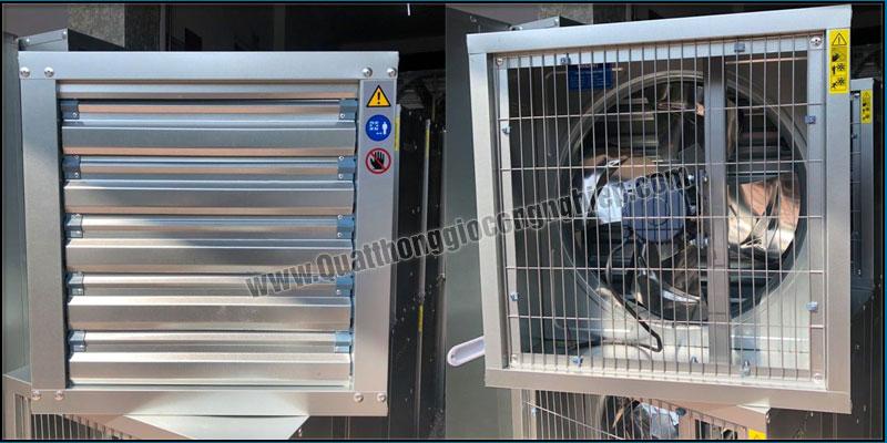 Quạt Hút Gió Vuông SHRV 400×400