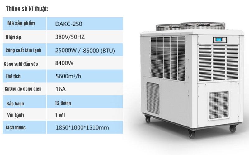 Máy lạnh di động Dorosin DAKC-2500