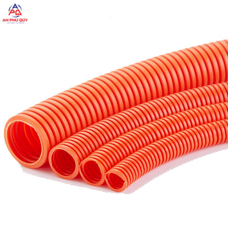 Ống nhựa xoắn HDPE luồn dây điện đường kinh 230mm