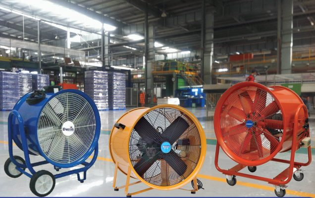 Lý do nên chọn quạt hút hơi nóng công nghiệp cho nhà xưởng