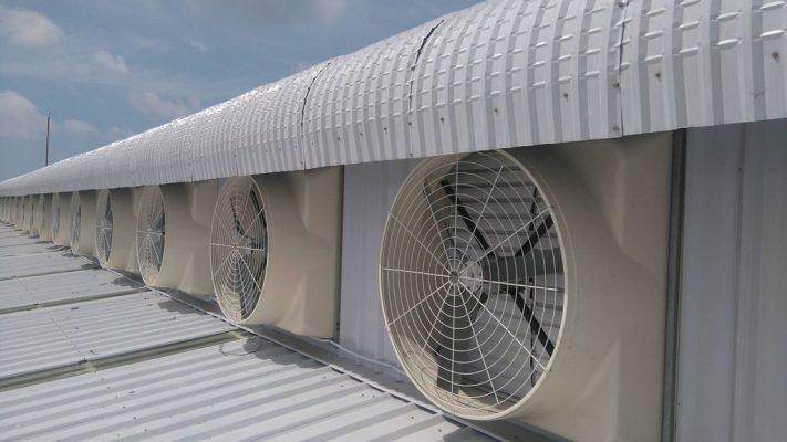 Quạt thông gió nhà xưởng có tác dụng gì?