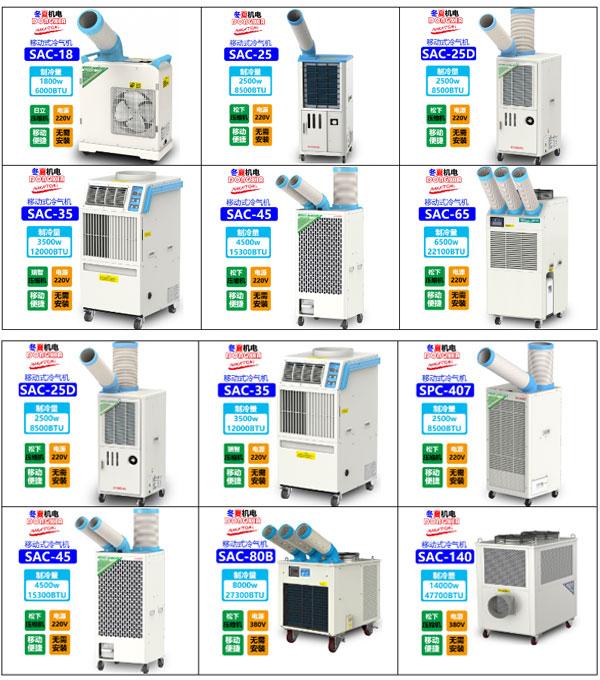 Máy lạnh di động Nakatomi đa dạng chủng loại